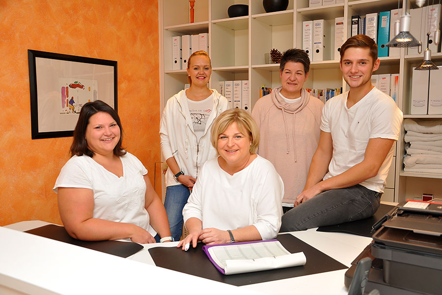 Team der Physiotherapie Oriwol-Schwab